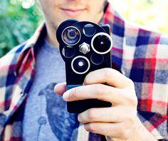 Lentes diferentes para iPhone! #hipster #iphone #iwynsh