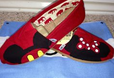 Disney Inspired Custom TOMS Shoes