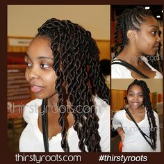 Big Twist Hairstyle