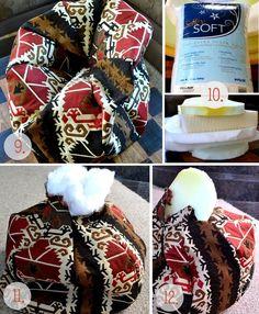 tutorials, poufs, diy crafts, decorating ideas, pouf tutori