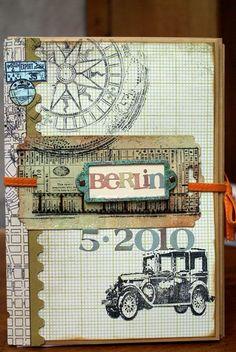 Envelope Mini Album  http://scrap-impulse.typepad.com/scrapimpulse/2010/05/ein-reisealbum.html