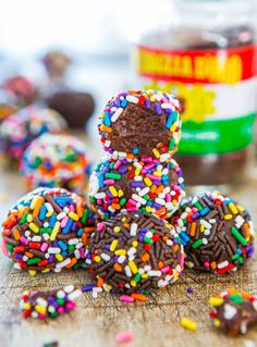 Chocolate Peanut Butter Mocha Powerballs (no-bake, vegan, gluten-free)