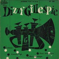jazz royale records dizzy gillespie 45rpm