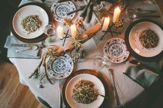 centre pieces, anthropologie, dinner parties, blog wwwnelleandlizzycom, breads, wild mushrooms, boho, dinner tables, scout blog