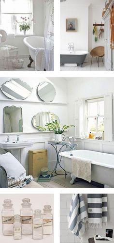 White and grey bathroom ideas