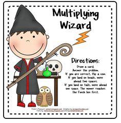 Multiplication Wizard -- Freebie!