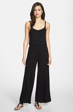 Loveappella Wide Leg Pant Jumper available at #Nordstrom