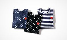 COMMES des GARCONS PLAY Spring/Summer 2014 Collection