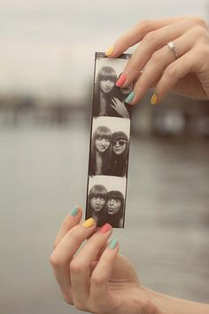 take funny pictures inside a photobooth :D