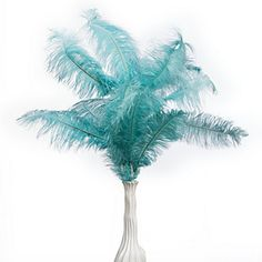 ... Ostrich Feather Spray is a lavish array of five luxurious feathers  Z Gallerie Ostrich Feathers