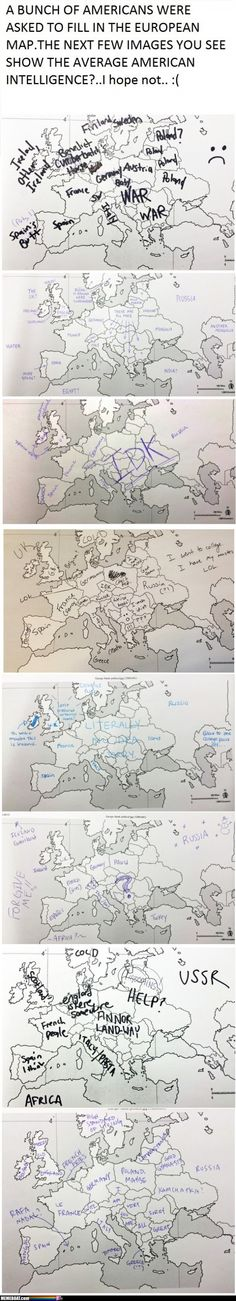Europe As Seen By Americans