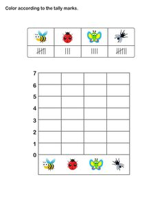 ... for Kids | Tally Chart Worksheets | Learn Graphs and Tally Chart More