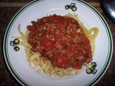 Bulk Freezer Cooking - Bulk Spaghetti and Meat Sauce: Great for any pasta
