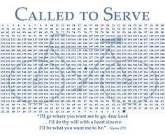 Missionary countdown free printable Missionari Countdown, Countdown Chart
