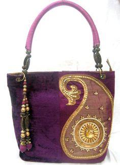 Purple Hand Bag