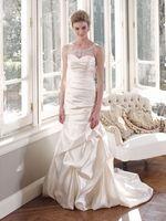 What do you think of the sheer tank neckline? I looooove it. Mia Solano #Wedding #Dresses - Style M1308Z - http://thealternativebride.com