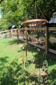 {A Smith of All Trades} DIY Key and Crystal Wind Chime