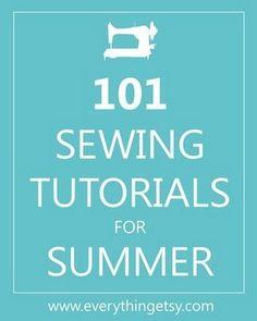 101 sewing tutorials