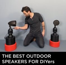 the best outdoor speakers for DIY projects