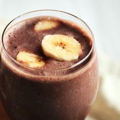 Healthy alternative to chocolate smoothie :)