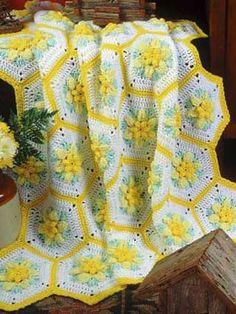 Daffodil Dreams Afghan