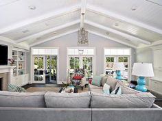 Cottage Living Rooms : Designers' Portfolio 321 : Home & Garden Television