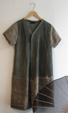 grey - corey linen smock from Corey and Company in Portland