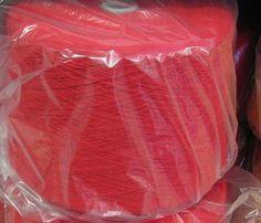 Red Acrylic 2/17 Cone Yarn Knitting Crochet by stephaniesyarn, $20.00