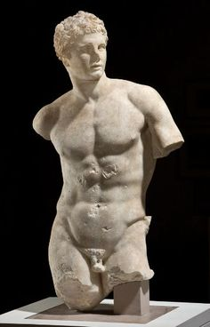 After Skopas  Greek (active mid 4th century BC)  Statue of Meleager, Roman copy of a 4th-century BC Greek original, 100-200 AD  Sculpture  , Statue