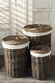 beautiful storage ... natural baskets