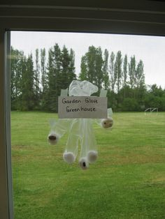 Greenhouse Glove:  Use a clear glove, beans/seeds, and cotton ball.  Students can easily see what happens.