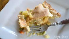 Chicken Pot Pie recipe. #dinner #recipe #chicken