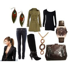 Green, Brown, Black with Brown & Gold accents, created by vidah
