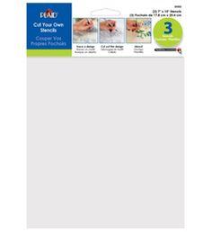 Plaid ® Craft Stencils - Value Packs - Blanks | Plaid Enterprises