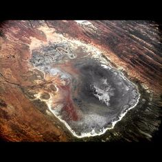 Salt lake, Australian Outback