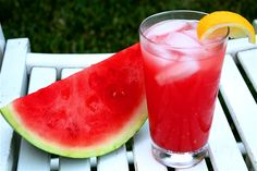 watermelon lemonade/just add Vodka