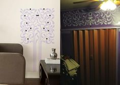 RoomMater Bonnie created her own #RoomMates #walldecal to customize her space. See how she did it here: http://roommatesdecor.com/blog/diy-customize-wall-decals/#.UwT4oPldWSo