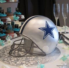 Grooms cake!! It must be Cowboys!!