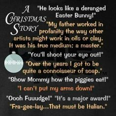 A Christmas Story @Katie Schmeltzer Donoho  @Emily Schoenfeld Donoho