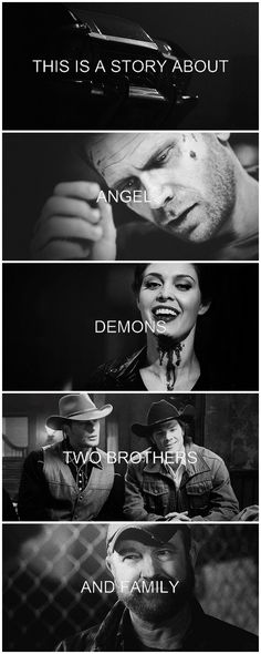 [gifset] This is a story about angels, demons, two brothers, and family. #SPN