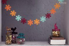 Organizar la casa on pinterest corner kitchen cabinets - Guirnaldas navidad manualidades ...
