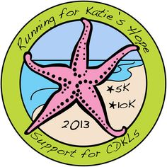 For for Katie. She lives with CDKL5: a rare genetic disorder.  Join our virtual run and help us help Katie!