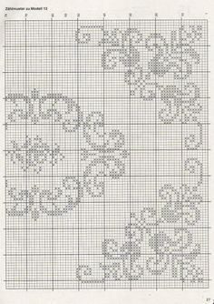 crochet chart, filet crochet, crochet pattern, crochet tablecloth, crochet filet