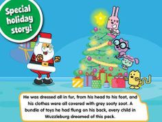 FREE for a limited time! Wubbzy's The Night Before Christmas - an interactive storybook(featuring the TV series character Wubbzy) plus extra activities: 3 minigames, 3 videos and a coloring activity.