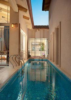 courtyard lap pool