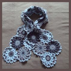 Scarf - with diagram!