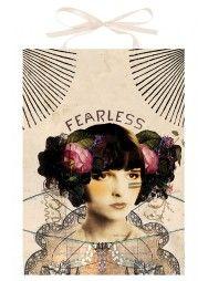 Fearless Art Panel Print