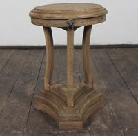French country furniture, carved side table.