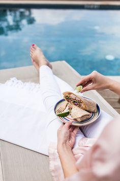 Healthy Summer Shrimp  Cabbage Wraps