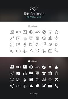 galleries, bar icon, ios, icon io, pictogram, tab bar, flats, design, flat icons